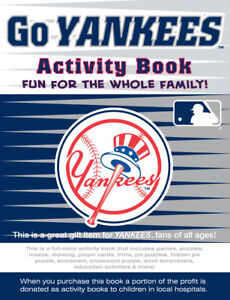 Image Is Loading New York Yankees MLB Kids Sports Activity Book