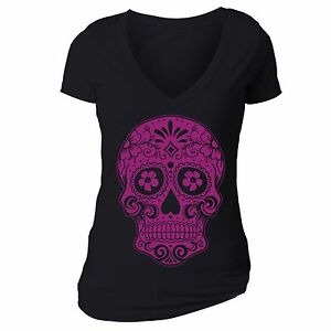 Sugar-Skull-Day-of-the-Dead-Shirt-Mexican-Gothic-Dia-Los-Muertos-Tshirt-Black