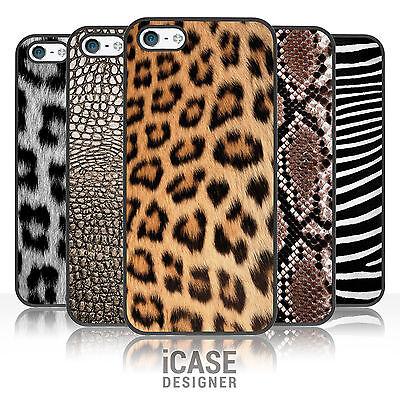 Animal Print Phone Case for iPhone & iPod. Leopard, Snake Skin, Crocodile, Zebra