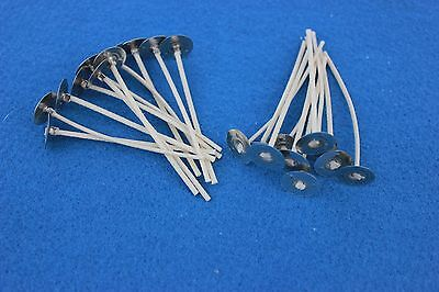 """Candle Wicks ~ 50ct ~ #770 - Candle Making 3 1/2""""  votive, jars, soy, palm"""