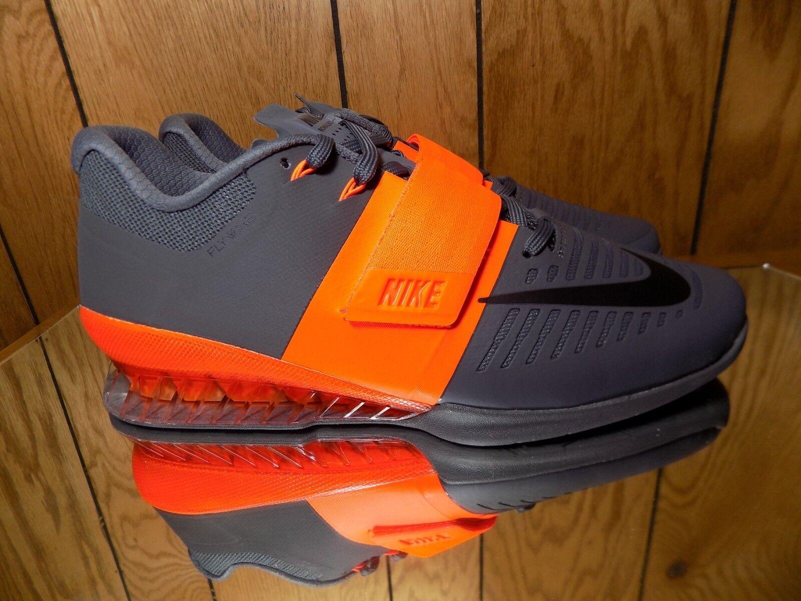 Nike Men's Romaleo's 3 Weightlifting shoes Hyper Crimson Grey 852933-800 Size 12