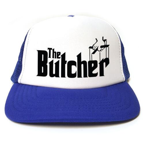 Le boucher-Parrain frauduleux-Drôle Rétro TRUCKER CAP Casquette-Snapback 3 Couleurs