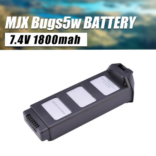 MJX B5 7.4V 1800mah 25C Lipo Battery For MJX B5 B5W Bugs 5 Brushless Quadcopter