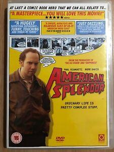 American-Splendor-DVD-2003-Harvey-Pekar-Comic-Artist-True-Life-Movie-Cult-Drama