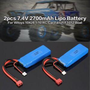 2pcs-7-4V-2700mAh-Lipo-Batterie-T-Plug-Pour-Wltoys-10428-A-10428-B-RC-Camion-Deg