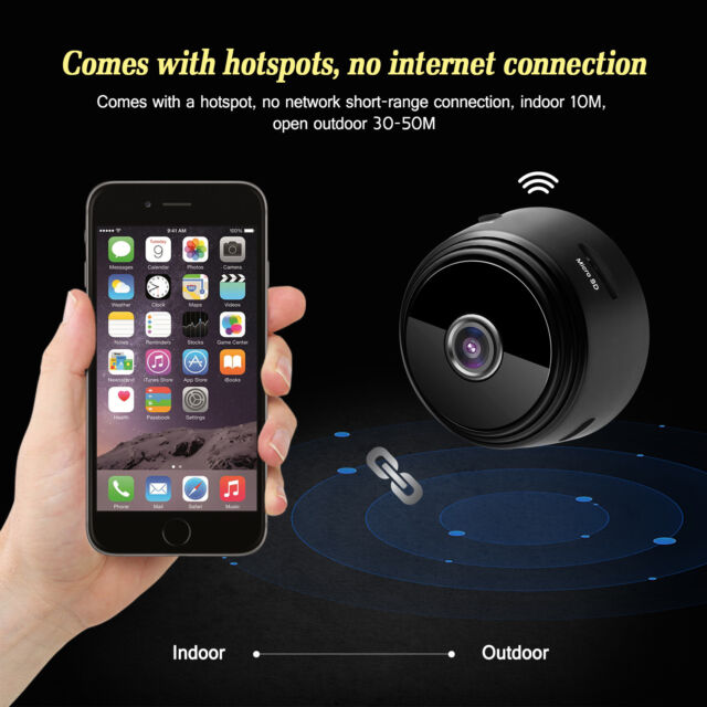 1080P Wireless Security Wide Angle Wifi IP Camera DVR IR Night Vision  Security