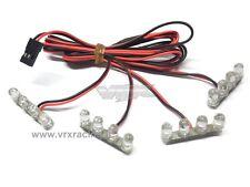 KIT LUCI DA 16 LED 8 LUCE BIANCA 8 LUCE ROSSA  VRX T975 X 1-5 1-8 1-10 1-16