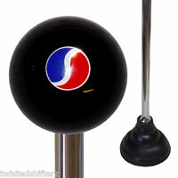 Custom Chrome Handle Plunger W/ Studebaker Emblem Black Shift Knob Top