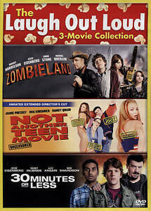 30-Minutes-of-Less-Not-Another-Teen-Movie-Zombieland-DVD-2-Disc-Set-NEW