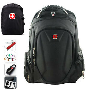 SwissGear-Waterproof-Backpack-Travel-Sports-15-034-Laptop-Bag-Schoolbag-Daypack-New