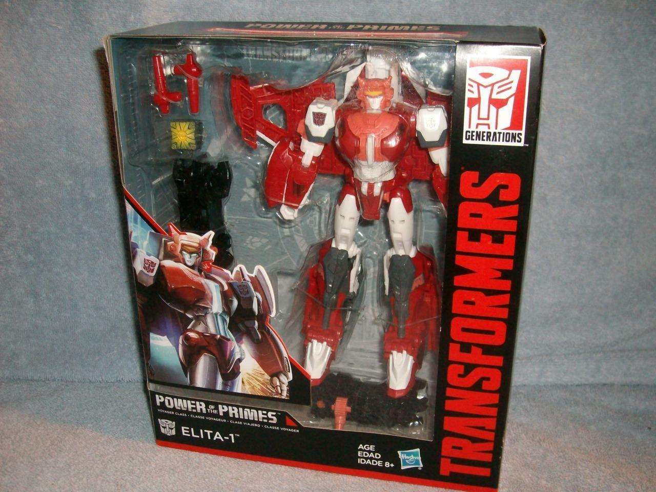 Elita-1 Autobot Transformers Power of the Primes Voyager Class Hasbro 2017 New