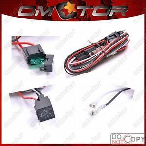 40-Amp-Off-Road-ATV-Jeep-LED-Light-Bar-Wiring-Harness-Relay-amp-ON-OFF-Switch