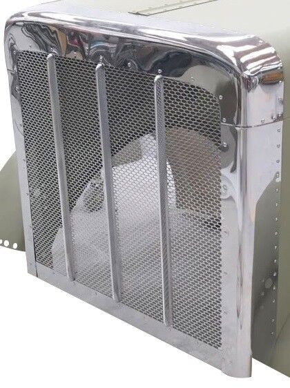 Peterbilt 389 Hood Stainless Steel Grille Assembly PG1360C