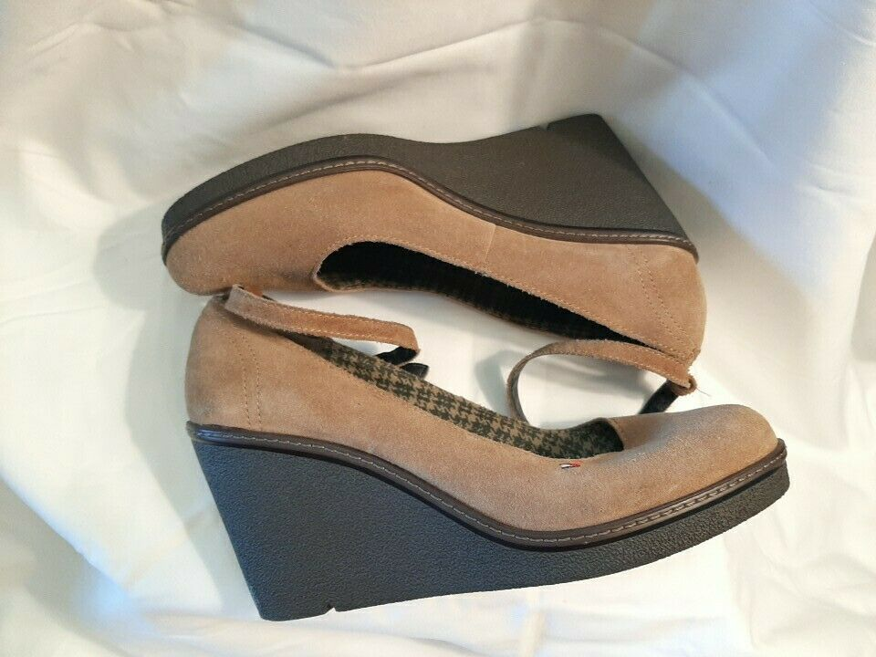 Tommy Hilfiger Angelina Wedges High Shoes Brown S… - image 3