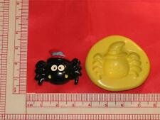 Halloween Spider Silicone Push Mold 143 For Candy Chocolate Resin Topper
