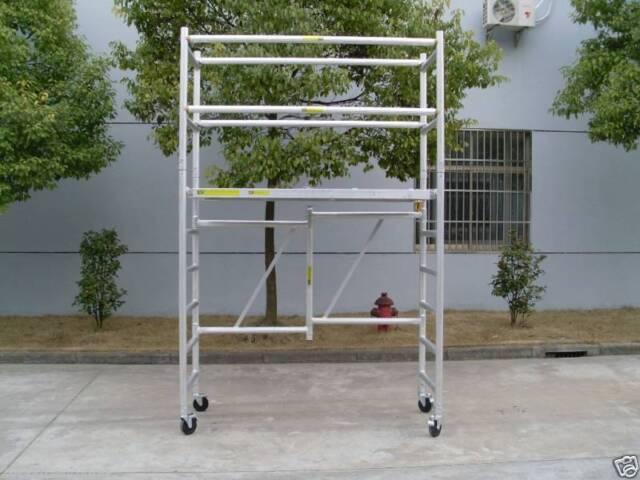 Aluminium Mobile Scaffold F22 ,Platform Ht 1.9m
