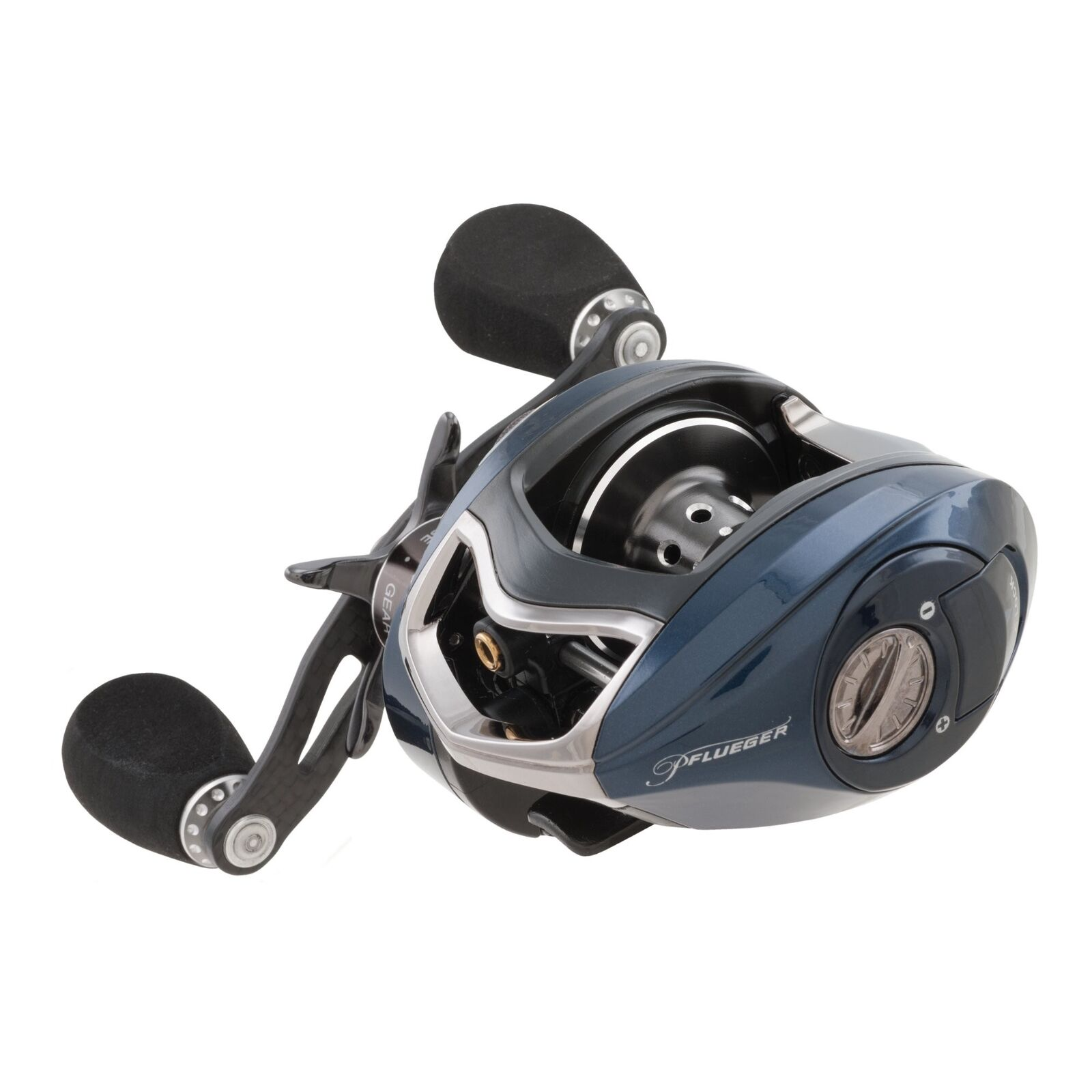 Pflueger Patriarch Low Profile Baitcast Fishing Reel PAT79LPX