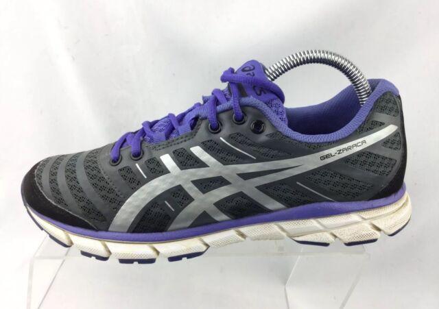 ASICS Womens GEL Zaraca Purplegray Running Trainers T3A9N Size 9 US