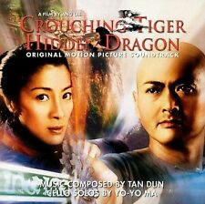 CROUCHING TIGER HIDDEN DRAGON Music Soundtrack by Yo-Yo Ma Tan Dun 2000 CD Rare