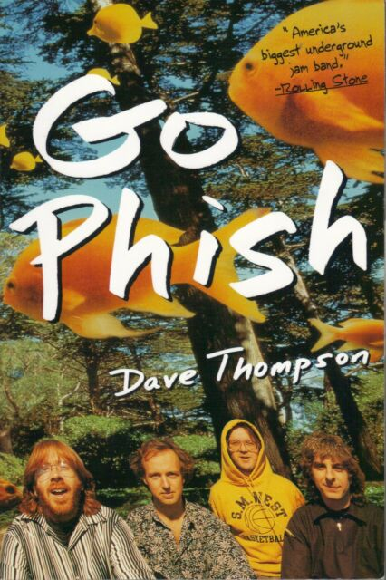 PHISH  Go Phish  large paperback book