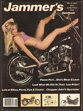 1983 JAMMER'S HANDBOOK NUMBER 15, CHOPPER PARTS DESIGN CATALOG HARLEY HONDA