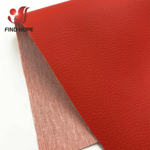 39*54inch Litchi Faux Synthetic PU Leather Fabric Sewing DIY Bag Shoes Material