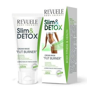 revuele slim detox cream mask fat burner 200ml weight loss anti cellulite ebay. Black Bedroom Furniture Sets. Home Design Ideas