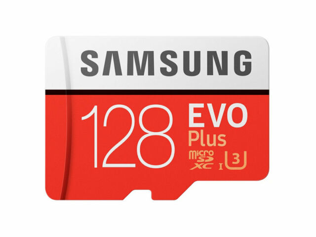 Samsung 128GB Evo+ Micro SD Card SDXC UHS-I 100MB/s Mobile Phone TF Memory Card