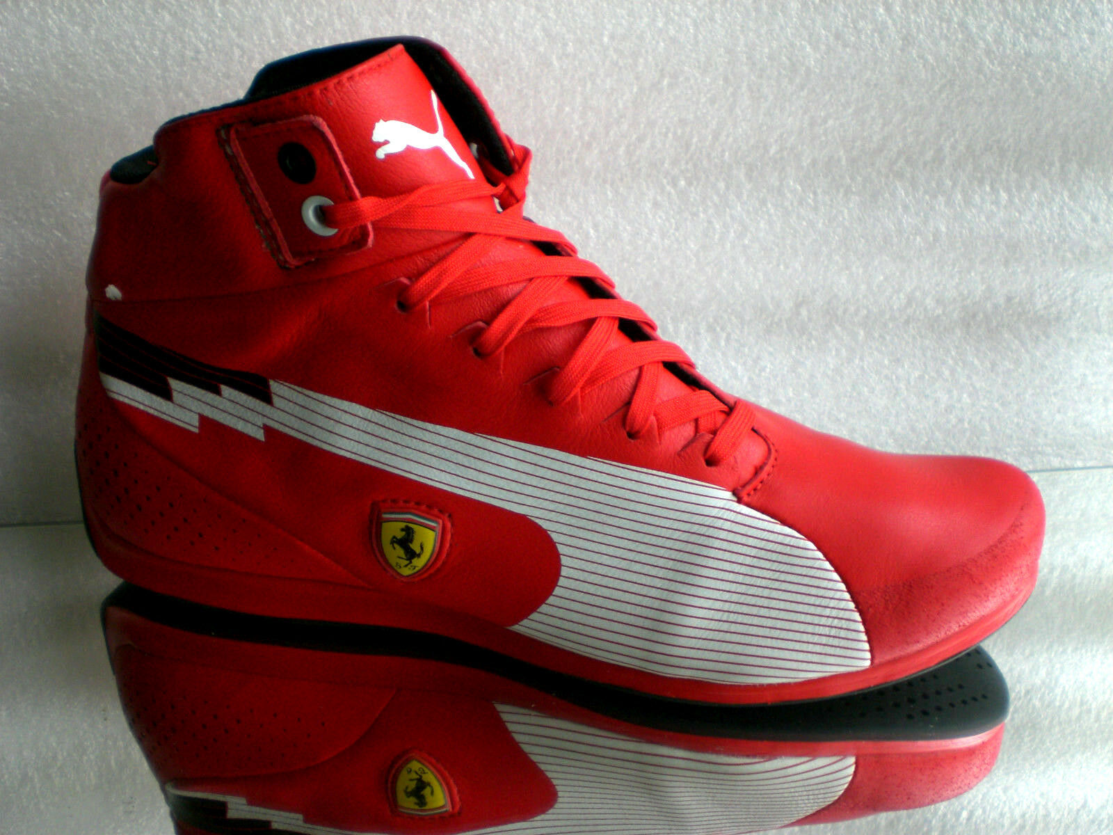 Original Puma Ferrari Gr: Speed Mid Men Sneaker TurnLaufschuh Stiefel Gr: Ferrari 39-42 +Bag be8a4f