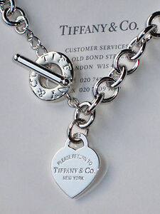 Image Is Loading Tiffany Amp Co Sterling Silver Return To