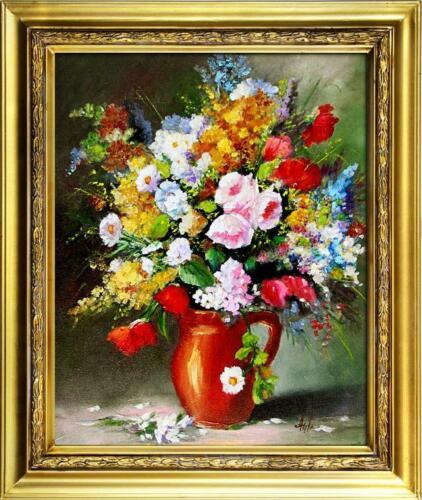 Restaurando barocco immagine immagini quadri Ölbilder QUADRO OLIO CORNICE FOTO QUADRO g16677