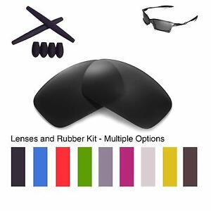 87e8a43acf0 Walleva Lenses and Rubber Kit for Oakley X Squared - Multiple ...