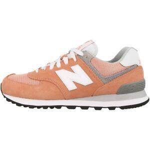 NEW BALANCE WL 574 CB DONNE Scarpe SAHARA sunset grigio wl574cb Sneaker 373
