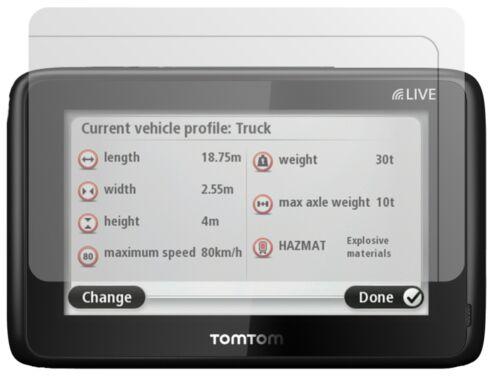 3x TomTom Pro 5150 Truck Live Schutzfolie matt Displayschutzfolie Folie Display