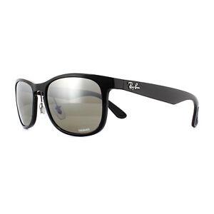 ce52363343 Ray-Ban Sunglasses RB4263 601 5J Black Grey Polarized Mirror Silver ...