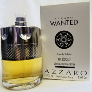 Azzaro-Wanted-EDT-100-Ml-3-4-Oz-Tester-New-in-Box