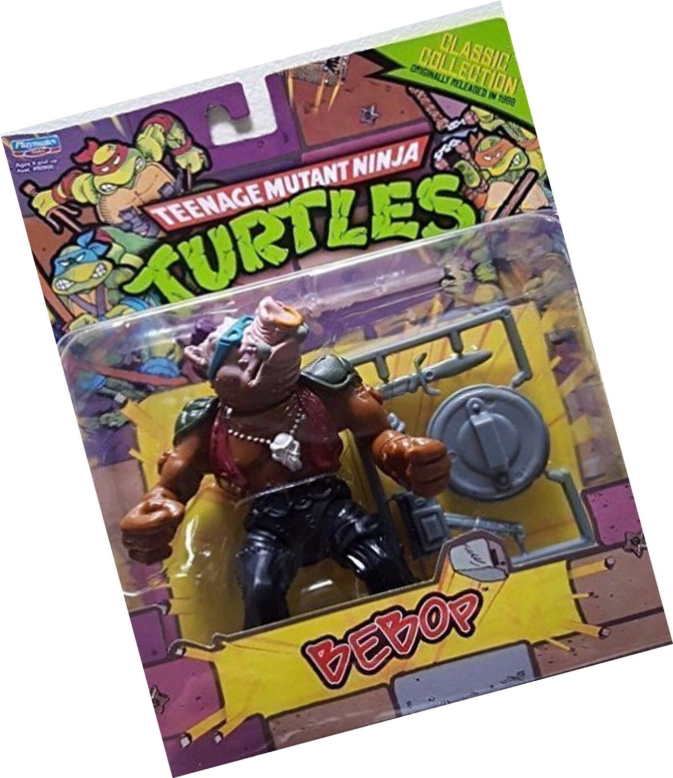 Teenage Mutant Ninja Turtles Classic Collection Bebop Action Figure 4 Inches