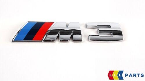 BMW GENUINE NEW M3 E90 E91 E92 E93 REAR LABEL STICKER BADGE EMBLEM  8041901