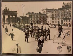 WWII-German-Original-Photograph-Brandenburg-Gate-XX-Rare-Photo