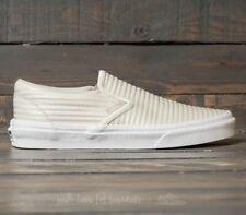 b1b096123ba2 item 4 Vans Classic Slip On (Moto Leather) Birch Blanc de Blanc Skate Mens  Size 8 -Vans Classic Slip On (Moto Leather) Birch Blanc de Blanc Skate Mens  Size ...