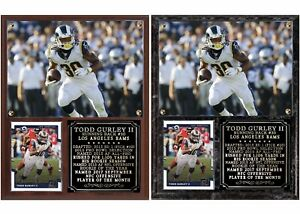 Image is loading Todd-Gurley-II-30-Los-Angeles-Rams-Photo- 31d9756d4