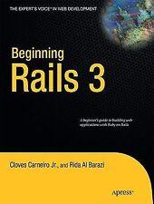 Beginning Rails 3 (Expert's Voice in Web Development)-ExLibrary