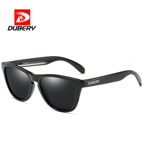 DUBERY Men's Polarized Sport Sunglasses Square Outdoor Fishing Driving Glasses
