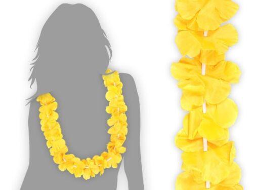 Hawaii-Ketten 2Stück Blumenketten Beach-Set riesen Auswahl Karneval Strandparty