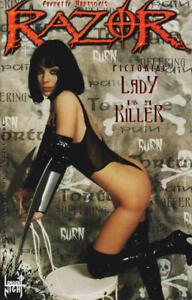 Razor Pictorial Lady is a Killer 1 Eric Powell O'Barr Hotz Hartsoe Bad Girl NM