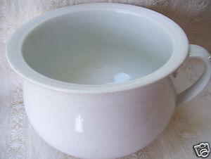 Details about Antique England Parisian Granite Thomas Elsmore & Son Thunder  Mug Chamber Pot