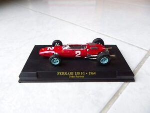 Ferrari-158-F1-John-Surtees-2-1964-1-43-F1-Ixo-Altaya-Formule-1
