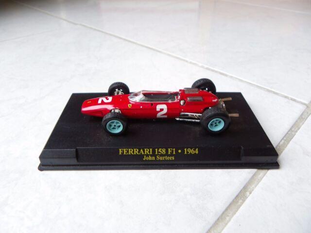 Ferrari 158 F1 John Surtees #2 1964 1/43 F1 Ixo Altaya Formule 1