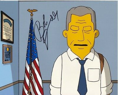 Robert Duvall Signed Autographed The Simpsons Photo Entertainment Memorabilia Television