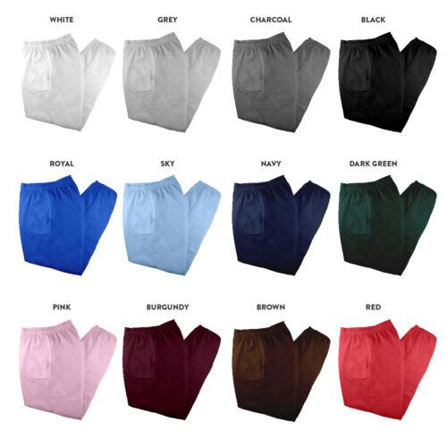 Pack Mens Fleece Casual House Plain Sweatpants 2 Pants Womens Yoga Gym Joggers BqdS5
